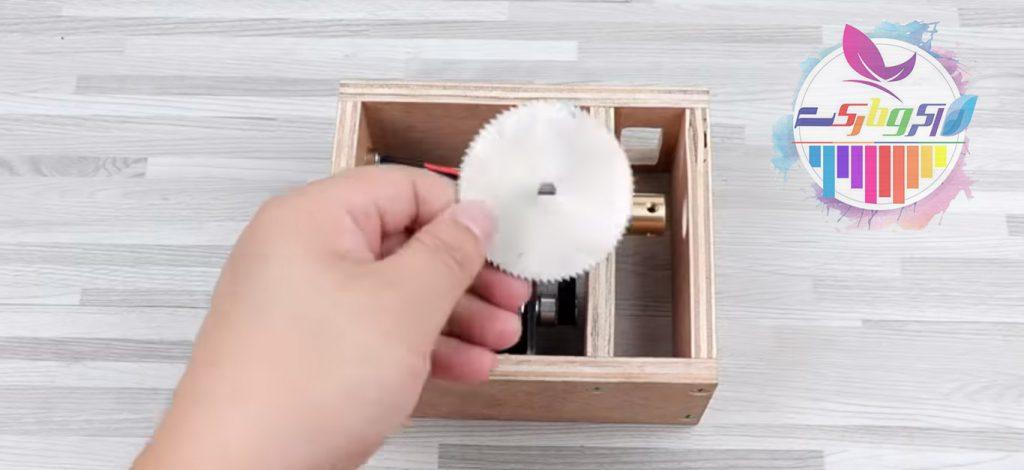اره دیسکی رومیزی بسازید
