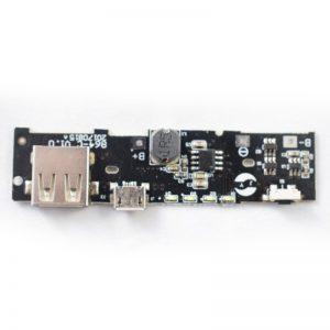 ماژول پاور بانک دارای خروجی 5V 2.1A USB