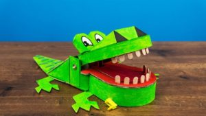 آموزش - ساخت - کروکدیل- سوسمار دندان پزشک - اسباب بازی
