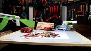 2 تانک-اسباب بازی- آموزش - ساخت - چگونه -کاردستی