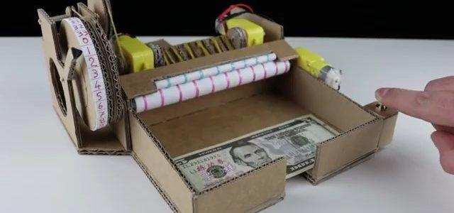 ساخت دستگاه پول شمار با آرمیچر