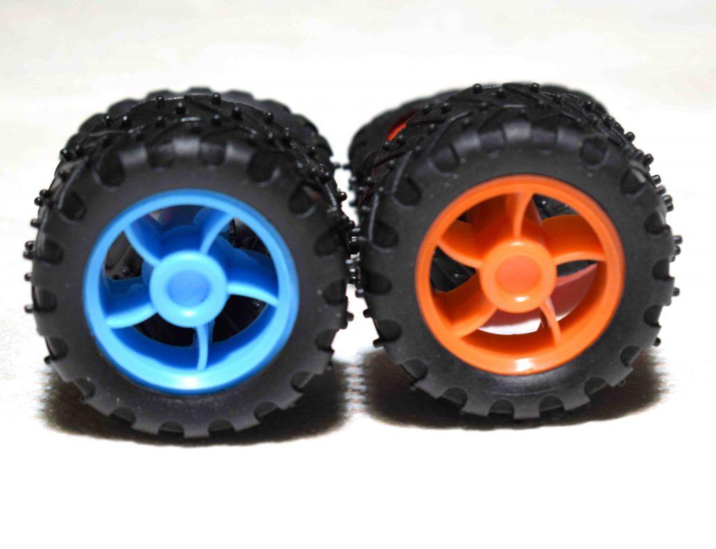 2 چرخ – چرخ روبات – چرخ ربات – چرخ برای ماشین – چرخ آرمیچر