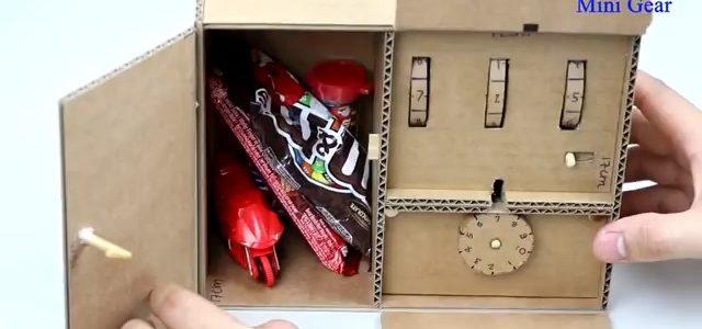 ساخت جعبه با قفل رمزی