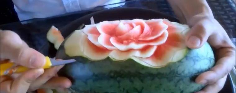 تزئین هندوانه ( به مناسبت شب یلدا )