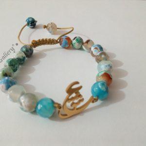 دستبند سنگ ، فروش دستبند ، دست ساز ، خرید دستبند