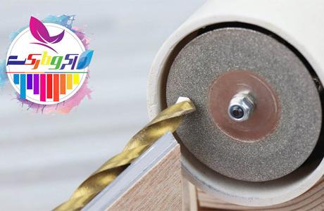 مته تیزکن رومیزی بسازید - مناسب برای تیز کردن مته در انواع مختلف