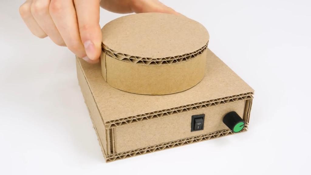 همزن مغناطیسی - ساخت کاردستی
