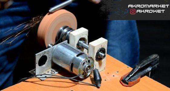 ساخت دستگاه چندکاره سنگ رومیزی و فرز انگشتی